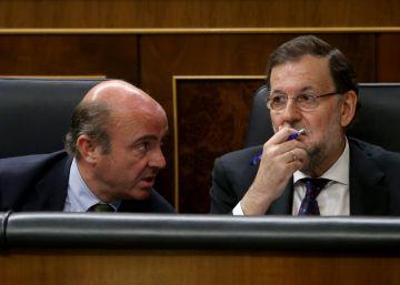 Rajoy se atasca sobre la economía