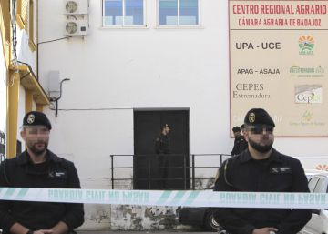 Detenidos por fraude miembros de la Unión de Pequeños Agricultores en Extremadura