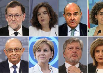 Los perfiles de los 13 ministros