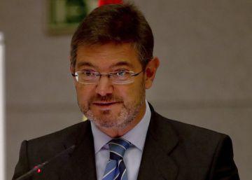 El ministro de Fomento, Rafael Catalá.