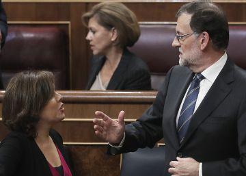 Santamaría y Cospedal pugnan ahora por influir dentro del Gabinete