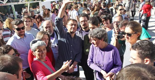 Juan Carlos Monedero, confundador de Podemos.
