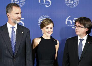 Un año sin Cataluña en los discursos del Rey