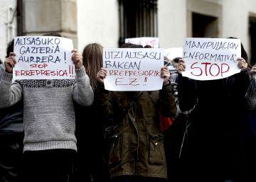 Prisión para seis de los ocho detenidos por la agresión a dos agentes en Alsasua