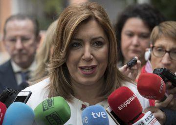 """Díaz advierte del """"grave choque de legitimidades"""" entre el PSOE y el PSC"""