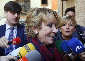 La Comunidad de Madrid admite el espionaje político en la etapa de Aguirre