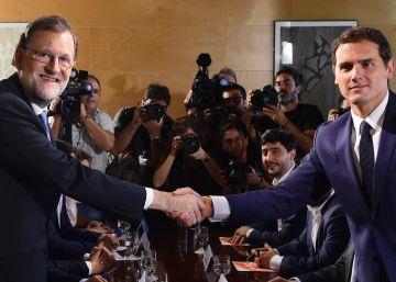 Rivera diseña su oposición siguiendo el modelo de Madrid