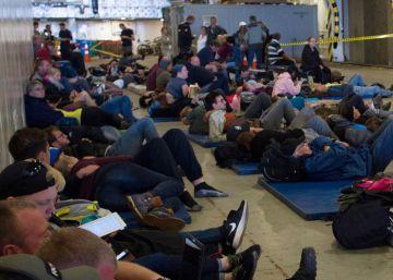 Ocho turistas españoles atrapados por el terremoto de Nueva Zelanda esperan el rescate