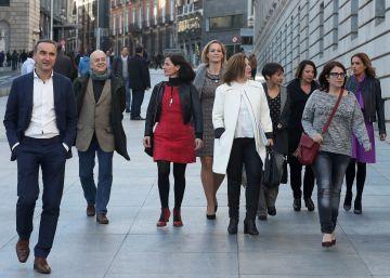Los diputados díscolos aguardan la sanción de la gestora del PSOE