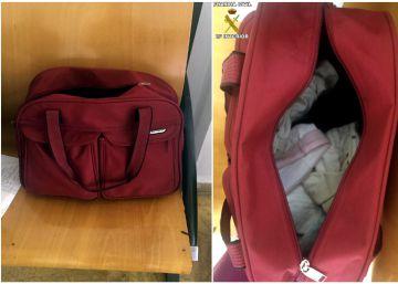 La Guardia Civil localiza en Melilla a un bebé oculto en un bolso