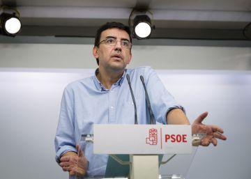 """La gestora del PSOE busca """"clarificar"""" su relación con el PSC"""
