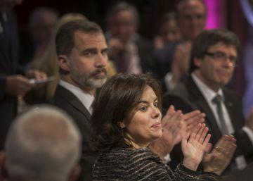 Santamaría gana peso ante Cospedal en el segundo nivel del Gobierno