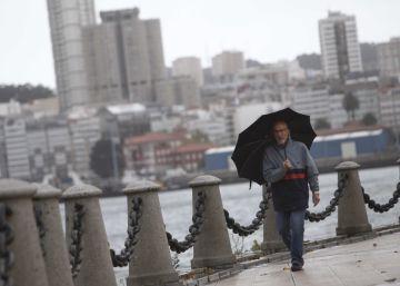 Lluvias intensas y fuerte viento en casi toda España