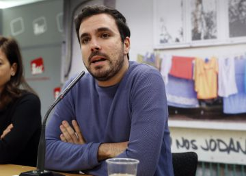 """Garzón quiere """"superar IU en un nuevo espacio político lo antes posible"""""""