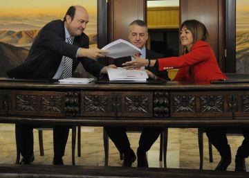 PNV y PSE definen su acuerdo como un ejemplo para España