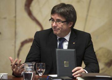 Puigdemont dice que el suplicatorio de Homs dificulta el diálogo con el Gobierno