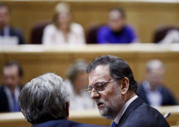 Mariano Rajoy comparece en el Congreso durante la sesión de control