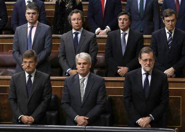 """Rajoy, """"enormemente apenado"""" por la muerte de Barberá: """"Se hace muy duro"""""""