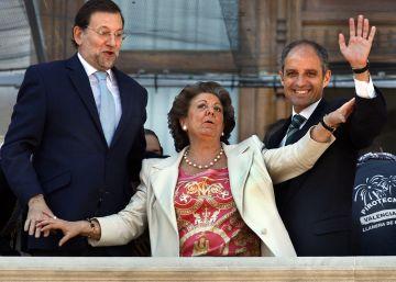 """Aznar: """"Barberá ha muerto excluida del partido"""""""