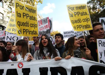 """El Ministerio califica de """"irrelevante"""" el seguimiento de la huelga anti LOMCE"""
