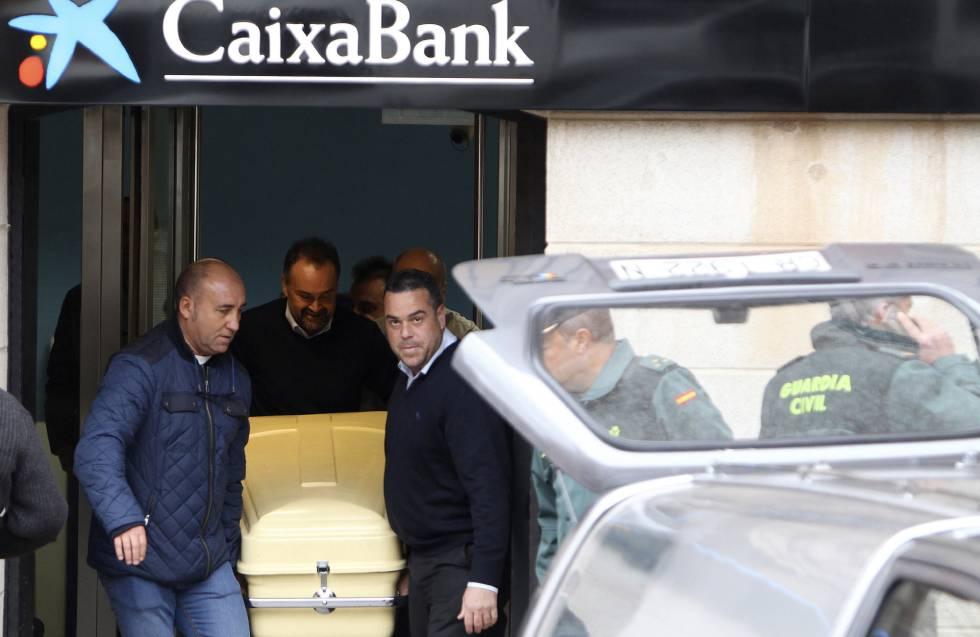 La solana asesinado de un disparo el director de una for Oficinas caixabank madrid