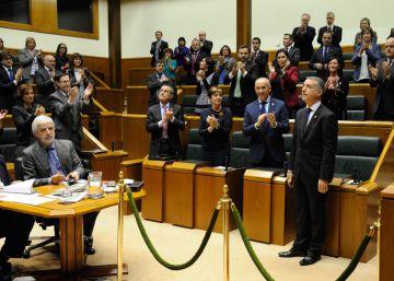 Urkullu apela a los pactos como el nuevo lehendakari