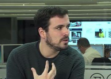 """Alberto Garzón: """"No estoy de acuerdo con las tesis de Íñigo Errejón"""""""