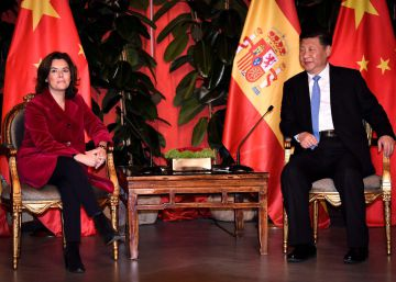 Santamaría invita al Gobierno chino a fortalecer el vínculo con España