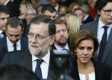 Rajoy y la vieja guardia del PP alientan la rehabilitación póstuma de Barberá