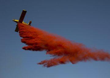 España envía cuatro hidroaviones a Israel para combatir los incendios