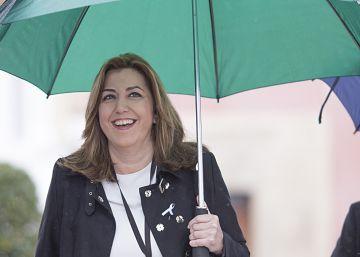 """Díaz: """"El PSOE tiene las mejores condiciones para liderar el conflicto territorial"""""""