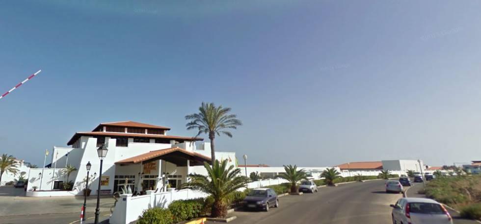 El 'resort' de Fuerteventura, junto al que se produjo el asesinato.