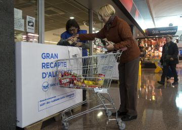 Los bancos de alimentos reúnen 22.000 toneladas en la 'Gran Recogida'