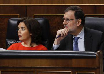 Rajoy pide respeto del Congreso a las competencias del Gobierno
