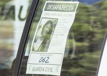 La Guardia Civil investiga un supuesto correo de Diana Quer a SOS Desaparecidos