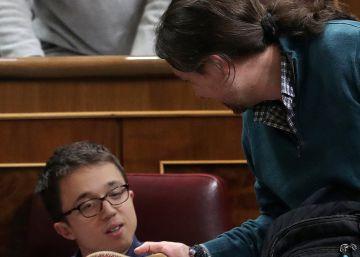 Las disputas internas alejan a Iglesias de la oposición parlamentaria