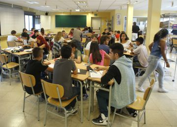 La educación española se estanca en ciencias y matemáticas y mejora levemente en lectura