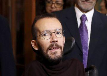 Iglesias recuerda que tiene los números para exigir un referéndum constitucional