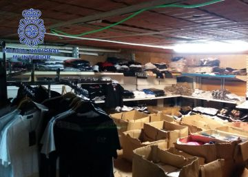 La Policía Nacional interviene 264.980 productos falsificados