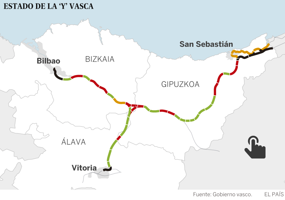 La lenta historia del tren rápido