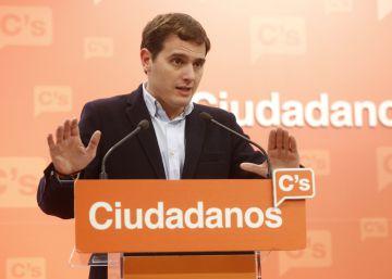 Rivera anima a sus críticos a presentar una alternativa para dirigir Ciudadanos