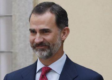 """El Rey evoca el """"sacrificio cruel de sefardíes y deportados republicanos"""""""
