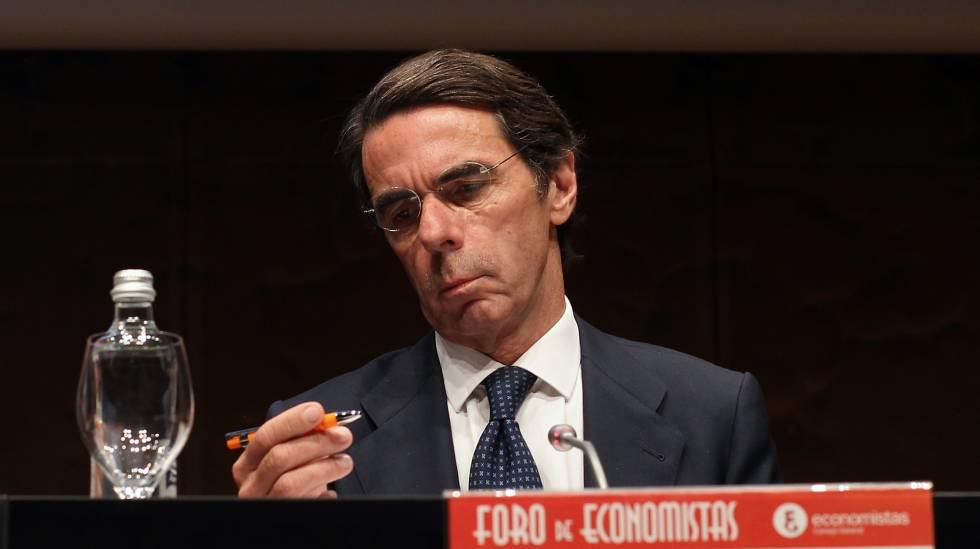 José María Aznar, expresidente del Gobierno, en una foto de archivo.