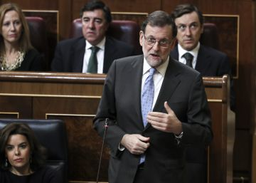 Rajoy rechaza derogar las leyes que cuestiona la oposición