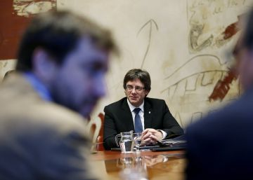 El soberanismo catalán ignora el veto del Constitucional al referéndum