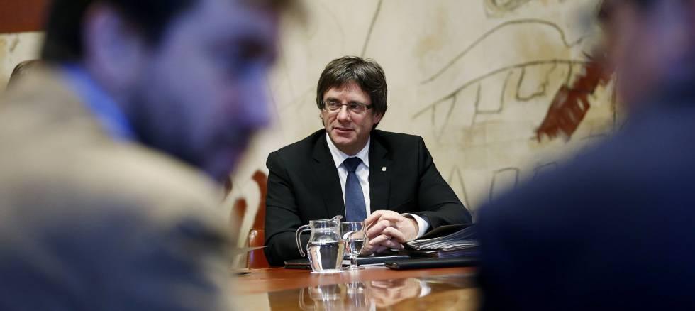 El presidente de la Generalitat, Carles Puigdemont.