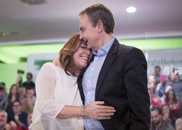 """Zapatero: """"Susana Díaz cuenta con todo mi apoyo"""""""