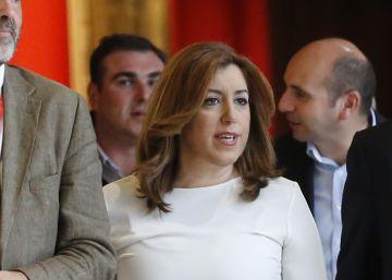 Susana Díaz enfría el ambiente después del apoyo de Zapatero