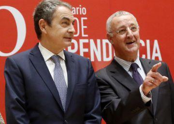 """Zapatero reprocha al PP el """"frenazo"""" a la Ley de Dependencia"""