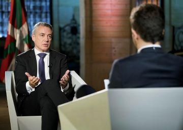 """Urkullu propone una """"federación"""" de naciones sin Estado dentro de la UE"""